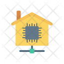 House Micro Chip Icon