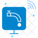 Home Automation Faucet Tap Icon