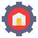 Home Automation Smarthome Setting Icon