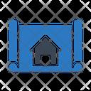Home Blueprint Icon