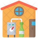 Home Brewing Alcohol Icon