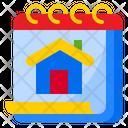 Home Calendar Icon