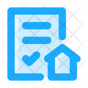 Certificate Agreement Contract Icon