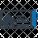 Home Cheque Icon
