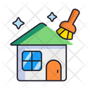 Home Cleaning House Home Icon