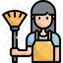 Housework Woman Clean Icon