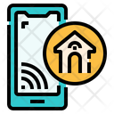 Home Control Automation Smart House Icon