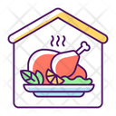 Home Cooked Meals Icon