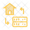 Home datacenter Icon