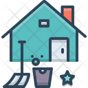 Home Deep Cleaning Icon