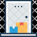 Doorstep Delivery Door Icon