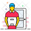 Home Delivery Door Delivery Delivery Services Icon