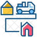 Home Delivery Delivery House Icon