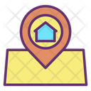 Home Delivery Home Shipping Home Location Icon