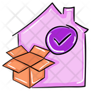 Home Delivery House Delivery Doorstep Delivery Icon