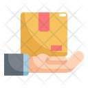 Hand Logistic Shipping Icon
