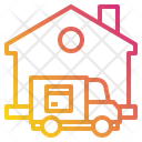 Home House Truck Icon