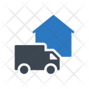 Delivery Fast Lorry Icon