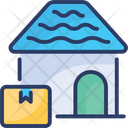 Home Delivery Package Cargo Icon