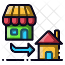 Store Home Delivery Icon