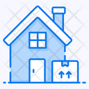 Home Delivery Parcel Delivery House Delivery Icon