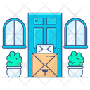 Home Delivery Doorstep Delivery Delivery Service Icon