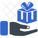 Home Delivery Box Gift Icon