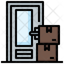 Home Delivery Door Delivery Packaging Icon