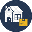 Home Delivery Home Shipping Icon