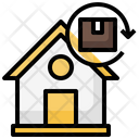 Home Circular Arrows Package Icon