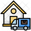 Delivery Delivery Van Tracking Icon