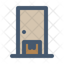 Home Delivery Delivery Service Front Door Icon