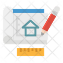 Sketch Draft Architecture Icon