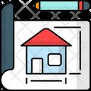 Home Design Architectural Construction Icon