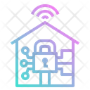 Home Digital Security Icon