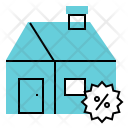 Discount Home House Icon