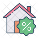 Home Discount Property Discount Property Offer Icon