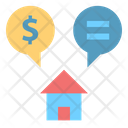 Discussion Dollar Conversation Icon
