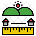 Home Distance Icon