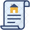Home Document Property Contract Property Documents Icon