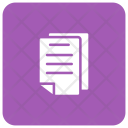 Document Paper Pages Icon