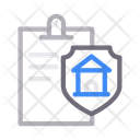 Document House Insurance Icon