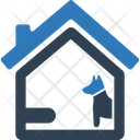 Home dog security Icon