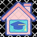 Home Education Home School Education Icon