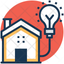 Power Supply House Icon