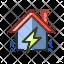 Energy Home Smart Home Icon