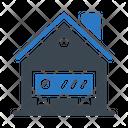 Server Storage House Icon