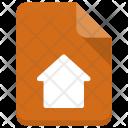 Home File Sheet Icon