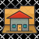Folder House Home Icon