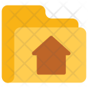 Home Folder Data Icon